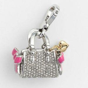 Juicy Couture Swarovski crystal daydream charm NWT